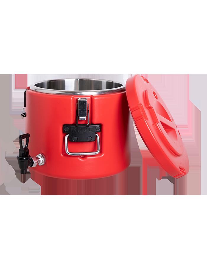 夏天能用不锈钢保温桶带饭吗?